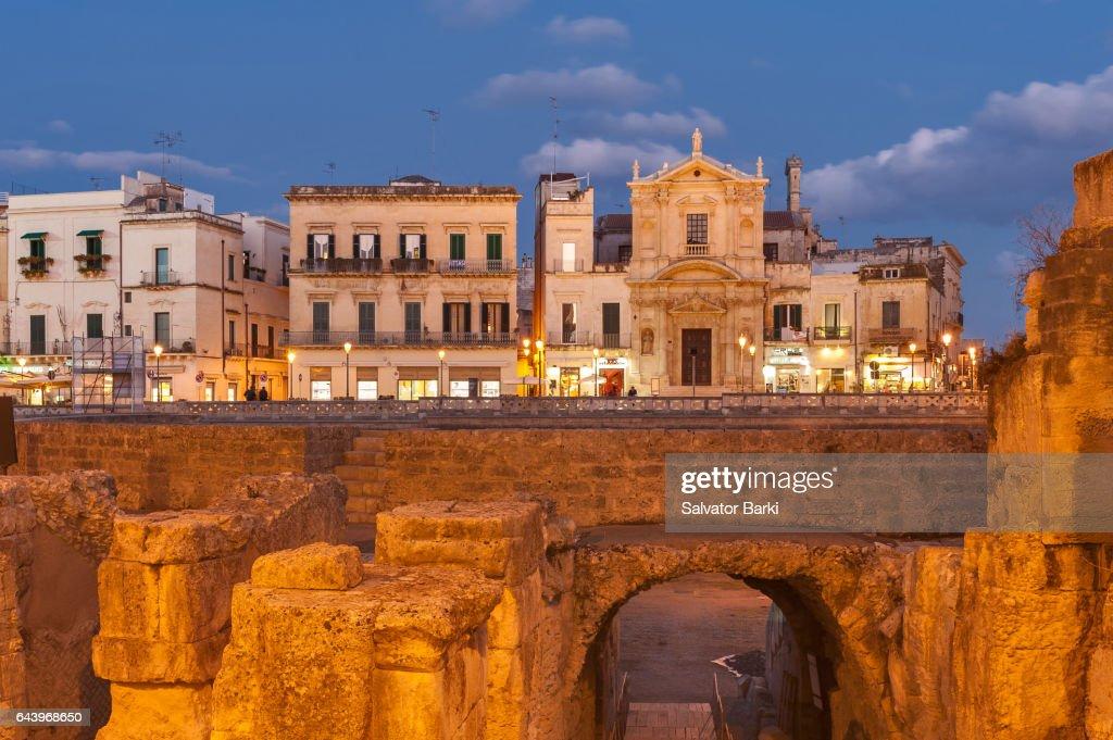 Lecce, Italy : Stock Photo