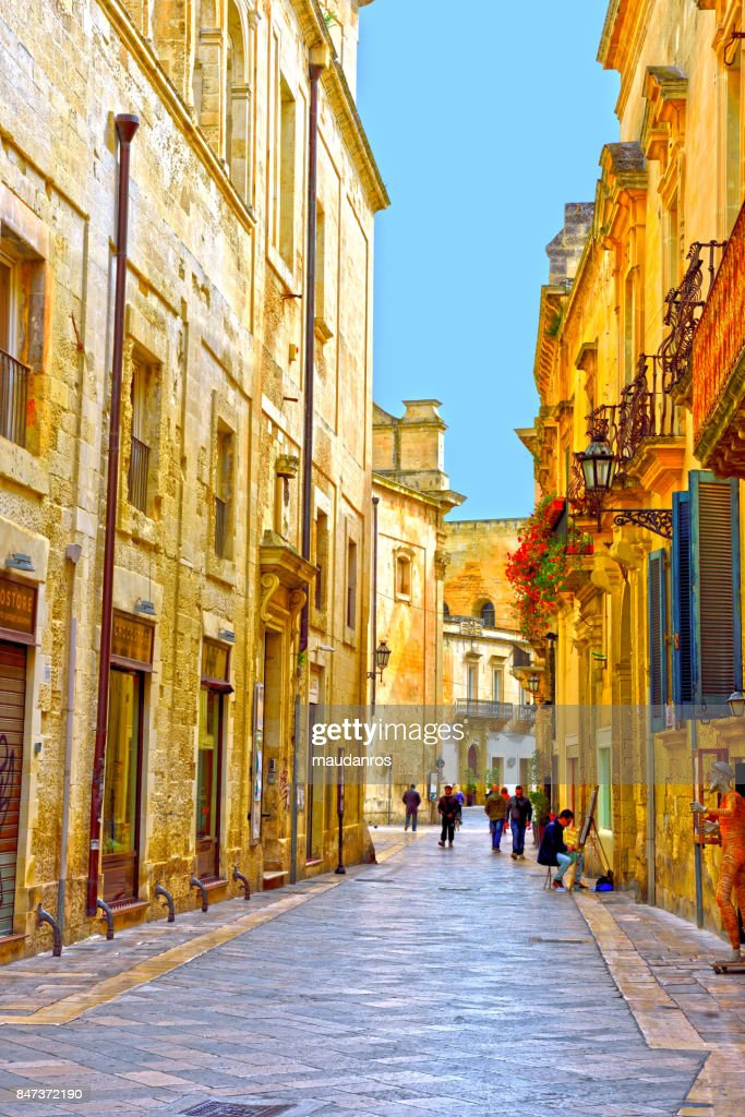 Lecce, Italy : Stock Photo