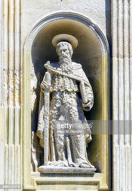 lecce - paul the apostle stock pictures, royalty-free photos & images