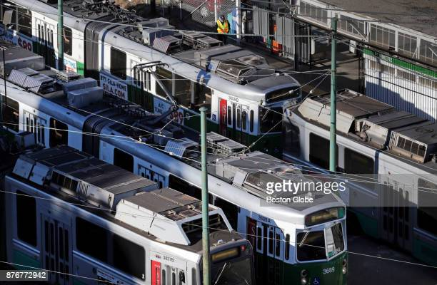 Lechmere Station the current northern terminus of the Green Line in Cambridge MA is pictured on Nov 17 2017 The Ts board of directors approved a $108...