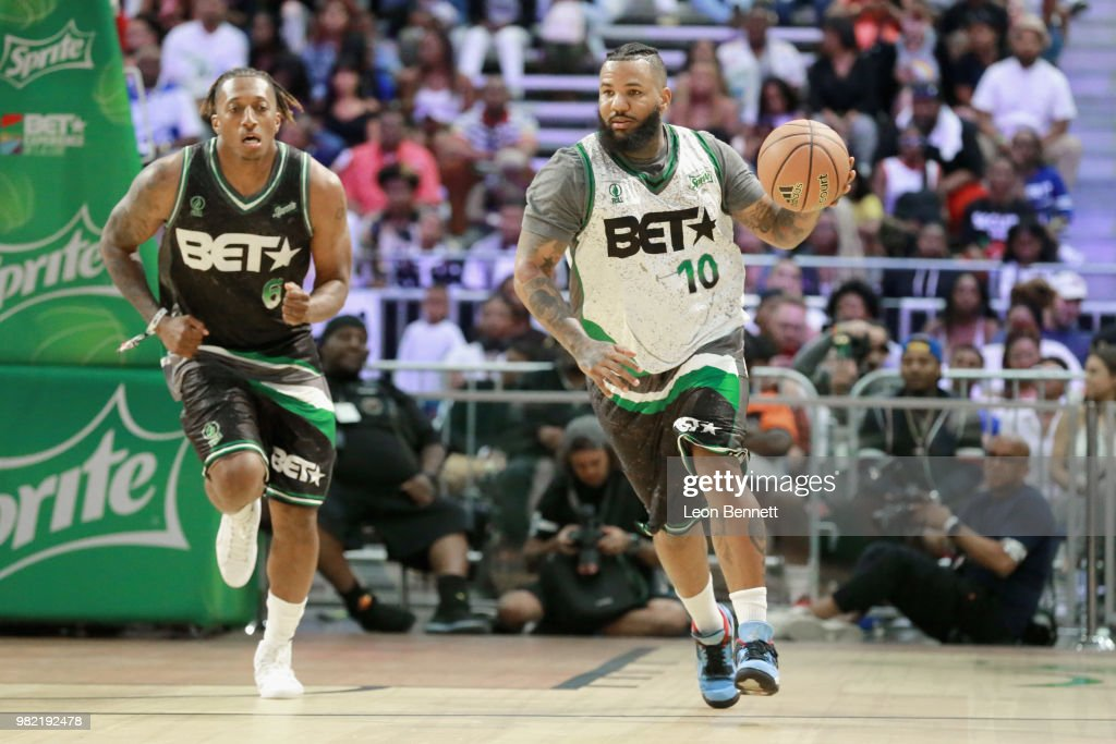 2018 BET Experience - Celebrity Basketball Game Sponsored By Sprite : News Photo