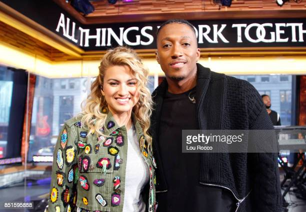 AMERICA Lecrae and Tori Kelly perform live on 'Good Morning America' on Friday September 22 airing on the ABC Television Network TORI