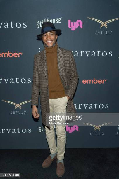 Lecrae attends the John Varvatos SS'18 Ad Campaign Launch Party on January 27 2018 in New York City