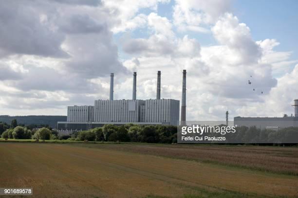 Électricité de France foctry at Pont-à-Mousson, Meurthe-et-Moselle department, France