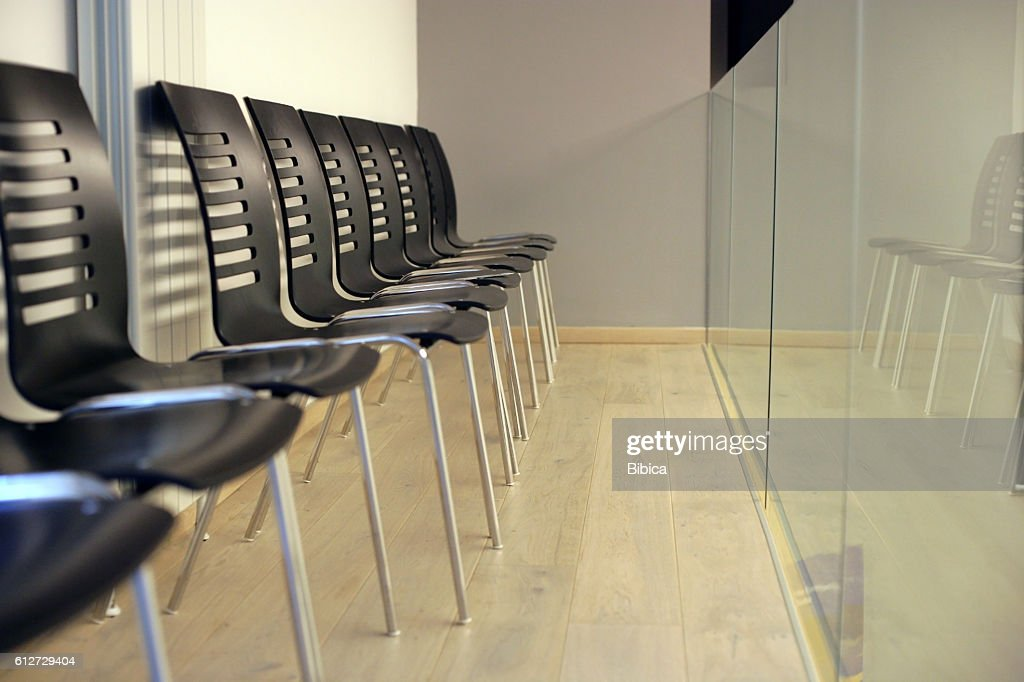 Excellent Lecture Black Chair On Upper Stage High Res Stock Photo Pdpeps Interior Chair Design Pdpepsorg