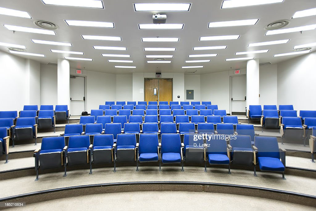 Lecture Hall Seats : Stock Photo