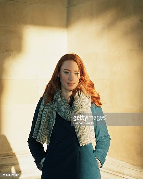 Lecturer on mathematics and writer Hannah Fry is photographed for the Knack Weekend on January 18 2016 in London England