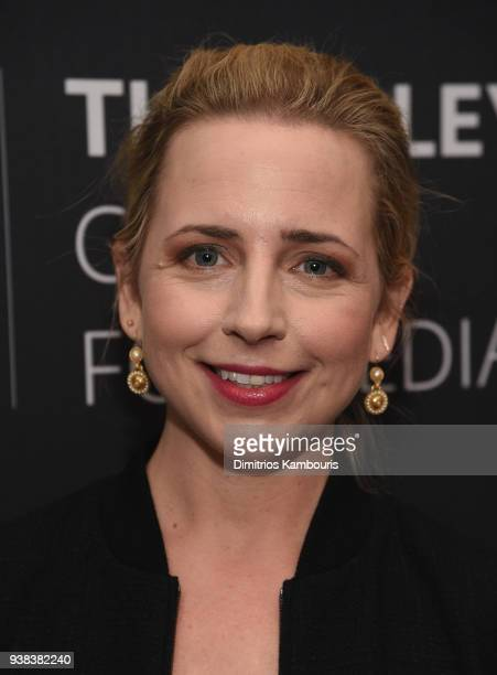 Lecy Goranson attends An Evening With The Cast Of Roseanneat The Paley Center for Media on March 26 2018 in New York City