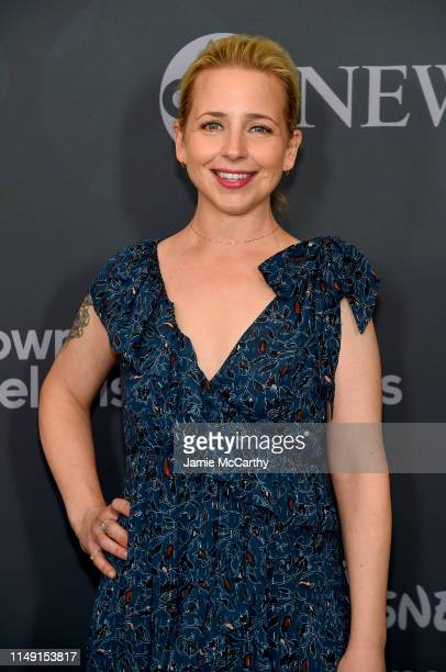 Lecy Goranson attends the ABC Walt Disney Television Upfront on May 14 2019 in New York City