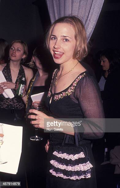 Lecy Goranson attends Vineyard Theater Benefit Gala on December 2 2002 at the Union Square Theater in New York City