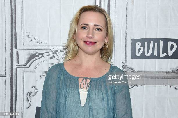 Lecy Goranson visits Build at Build Studio on March 26 2018 in New York City
