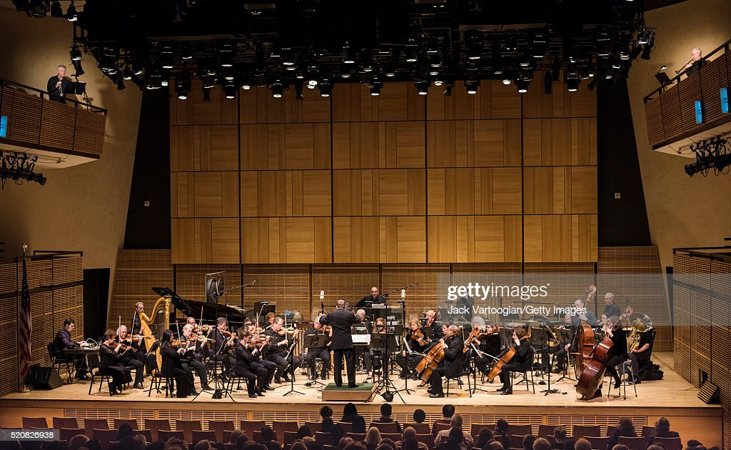 American Composers Orchestra At Zankel Hall : News Photo