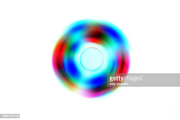 led fidget spinner abstract background