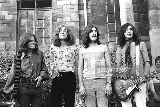 Led Zeppelin, 1969 Bath Festival at the Music File Photos 1960's in Various Cities,