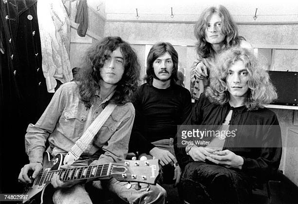 Led Zeppelin 1969 during Led Zeppelin File Photos at the Led Zeppelin File Photos in Various United Kingdom Photo by