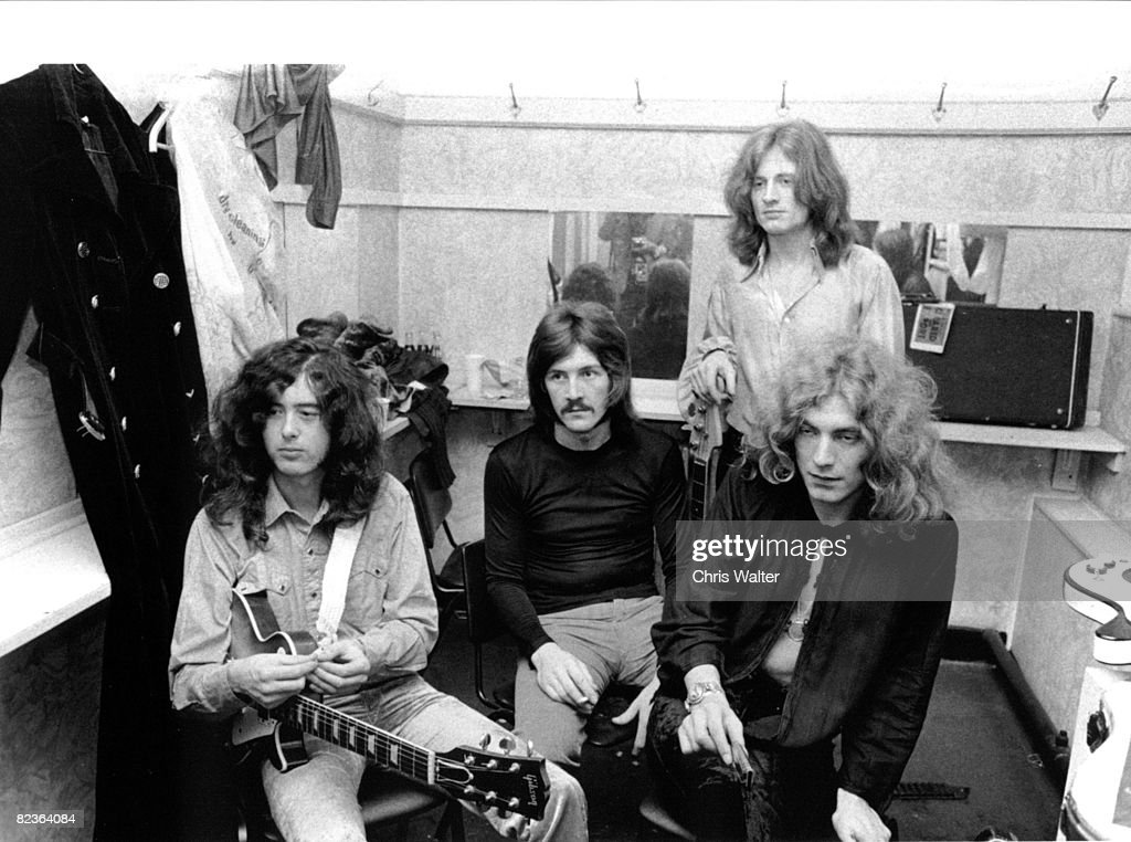 Led Zeppelin (Jimmy Page, John Bonham, John Paul Jones, Robert Plant) 1969 Lyceum