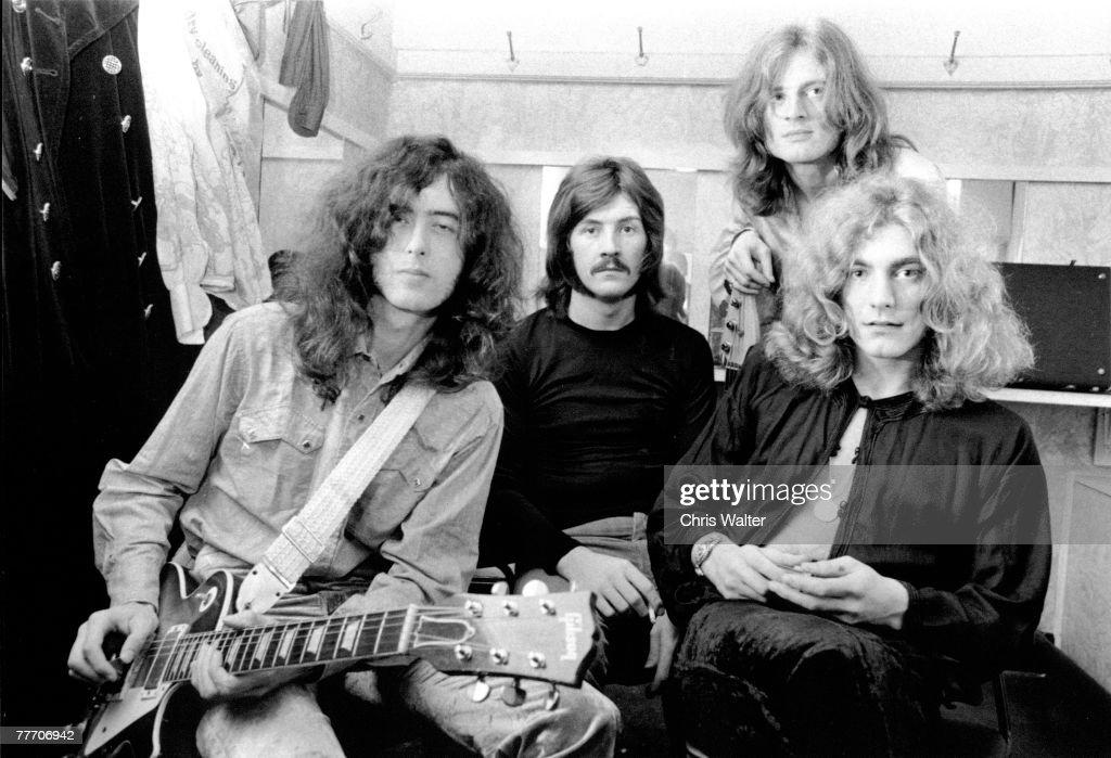 Led Zeppelin (Jimmy Page, John Bonham, John Paul Jones, Robert Plant) 1969