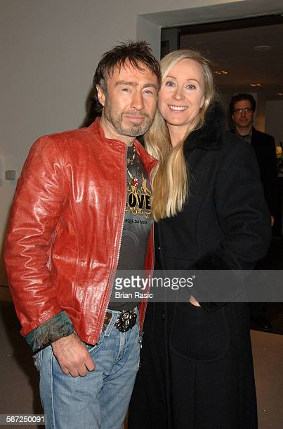 Led Zeppelin Concert At The O2 Arena London Britain 10 Dec 2007 Paul Rodgers And Wife