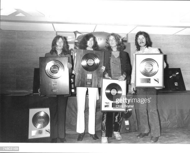 Led Zeppelin during Led Zeppelin File Photos at the Led Zeppelin File Photos in London United Kingdom Photo by Chris Walter/W