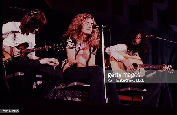 Led Zeppelin live at Nihon Budokan Tokyo September 1971