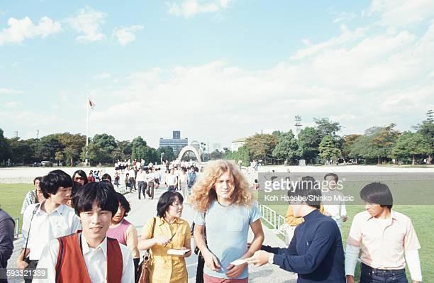 Led Zeppelin on a day off in Hiroshima Hiroshima September 1971
