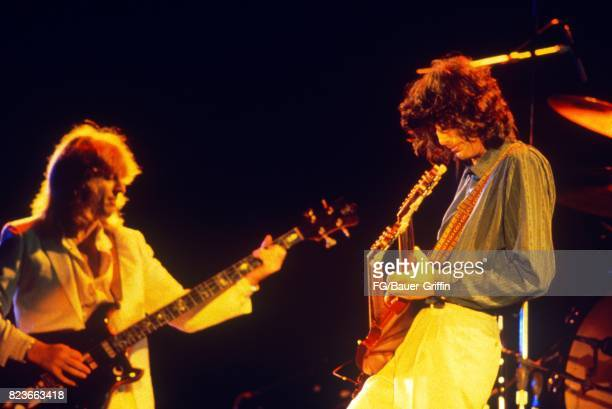 Led Zeppelin play Stairway to Heaven at Knebworth on August 11, 1979 in Knebworth, United Kingdom. 170612F1