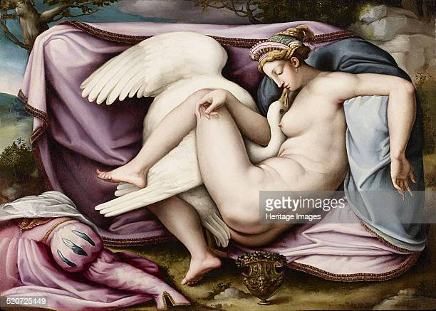 Leda and the Swan Found in the collection of Galleria d'Arte Moderna e Contemporanea Bergamo