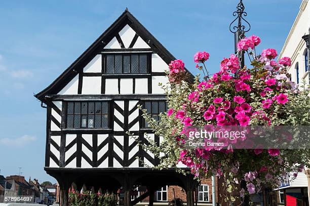Ledbury, Timber tramed old market house