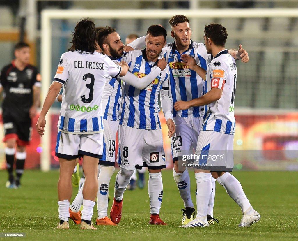 Pescara Calcio v Perugia - Serie B : News Photo
