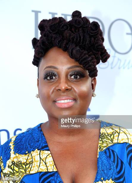 Ledisi arrives at the 16th Annual Heroes In The Struggle gala reception and awards presentation at 20th Century Fox on September 16 2017 in Los...