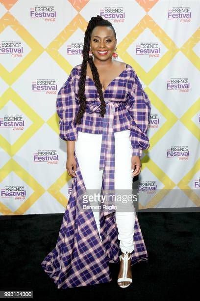 Ledisi attends the 2018 Essence Festival presented By CocaCola Day 1 at Louisiana Superdome on July 6 2018 in New Orleans Louisiana