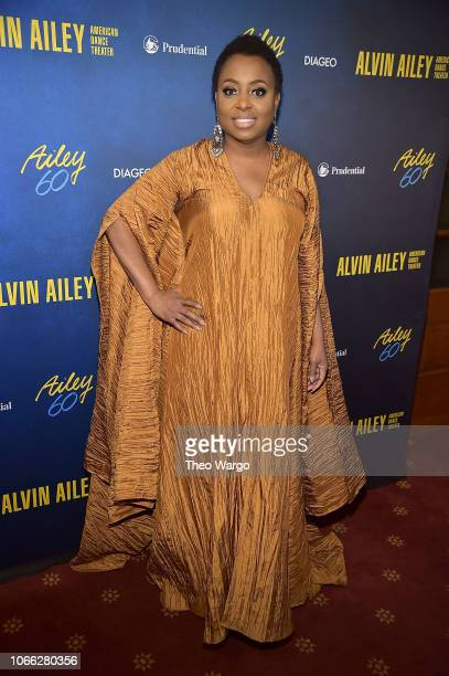 Ledisi attends the Alvin Ailey American Dance Theater's 60th Anniversary Opening Night Gala Benefit at New York City Center on November 28 2018 in...