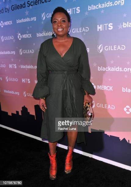 Ledisi attends the Black AIDS Institute's 2018 Heroes in The Struggle Gala at California African American Museum on December 01 2018 in Los Angeles...