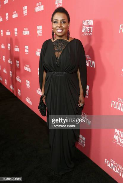 Ledisi attends the SAGAFTRA Foundation's 3rd Annual Patron of the Artists Awards at the Wallis Annenberg Center for the Performing Arts on November 8...