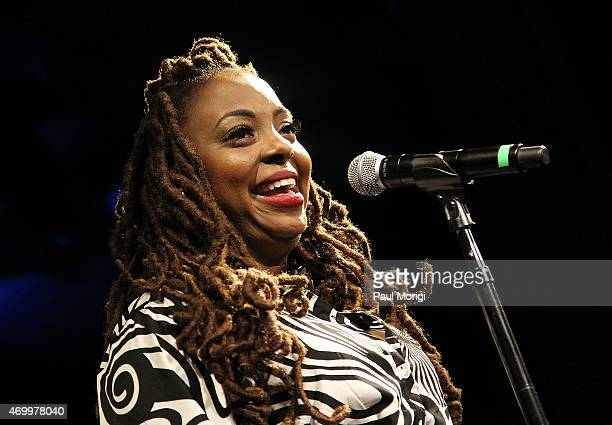 Ledisi performs at the 2015 GRAMMYs ON THE HILL AWARDS at The Hamilton on April 15 2015 in Washington DC