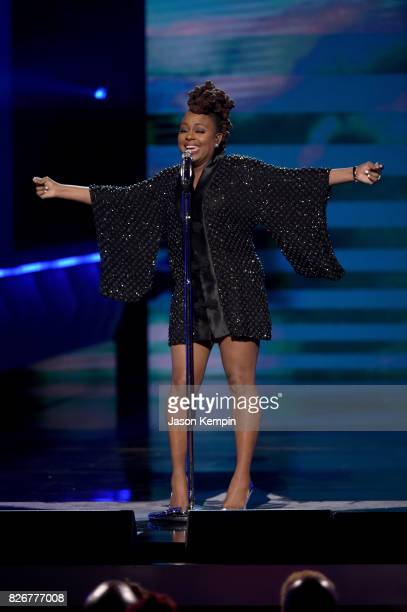 Ledisi performs onstage during Black Girls Rock 2017 at NJPAC on August 5 2017 in Newark New Jersey
