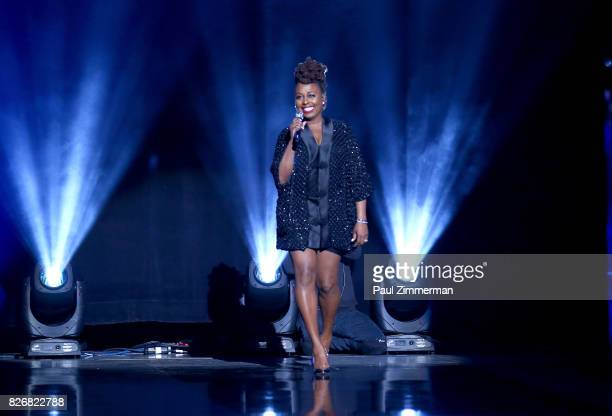 Ledisi performs onstage during the 2017 Black Girls Rock at NJPAC on August 5 2017 in Newark New Jersey