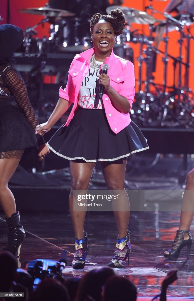 Ledisi performs onstage during the 'BET AWARDS' 14 held at Nokia Theater L.A. LIVE on June 29, 2014 in Los Angeles, California.