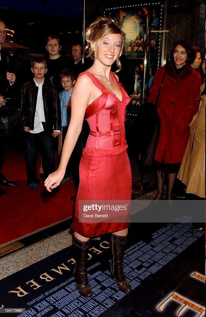 Ledivine Sagnier, Peter Pan The Movie, Premiere At The Empire, Leicester Square, London