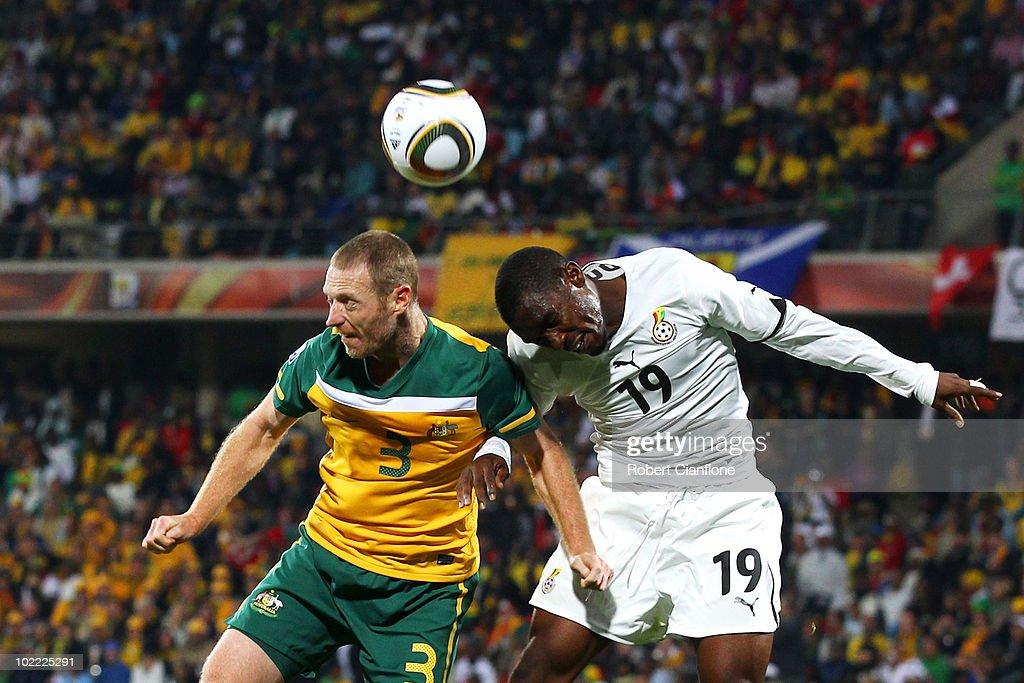 Ghana v Australia: Group D - 2010 FIFA World Cup : News Photo