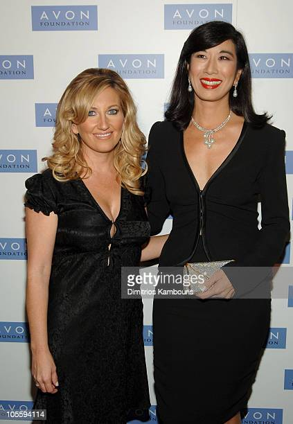 Lee Ann Womack and Andrea Jung Chairman and CEO of Avon Products Inc