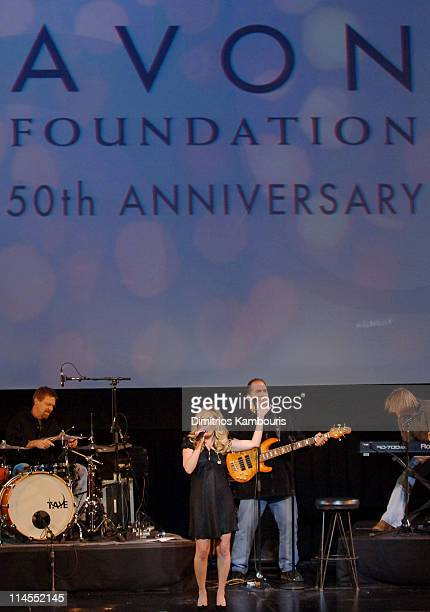 Lee Ann Womack during The Avon Foundation's 50th Anniversary Celebration - Awards Ceremony at American Museum of Natural History in New York City,...