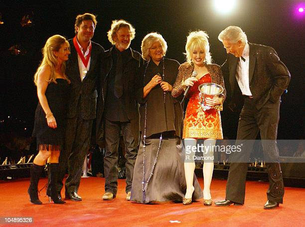 Lee Ann Womack Vince Gill Kris Kristofferson Francis Preston Dolly Parton and Porter Wagoner