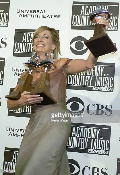 Lee Ann Womack won best song of the year top vocal event and single record of the year at the 36th Annual Academy of Country Music Awards at the...