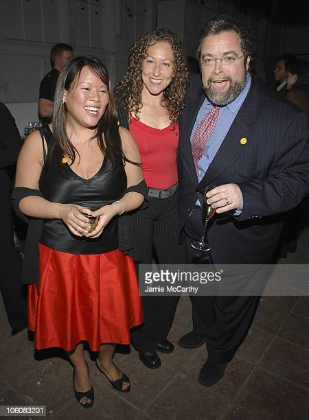 Lee Anne Wong of Bravo's Top Chef Andrea Beaman of Bravo's Top Chef and Drew Nieporent