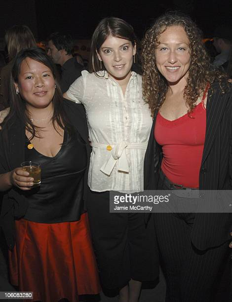 Lee Anne Wong of Bravo's Top Chef Gail Simmons and Andrea Beaman of Bravo's Top Chef