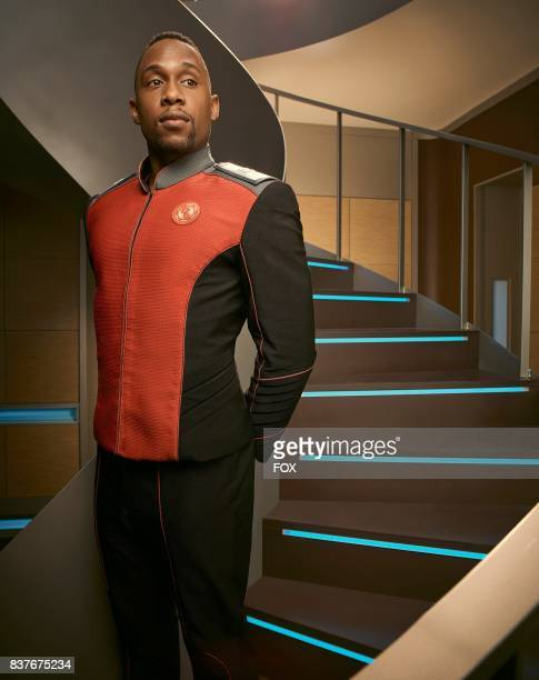 """Lee as John Lamarr in the new space adventure series THE ORVILLE from the creator of """"Family Guy."""" The first part of the special two-part series..."""