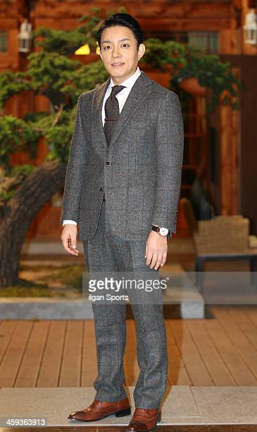 Lee BeomSoo attends the KBS 2TV Drama 'The Prime Minister and I' filming at KINTEX on December 23 2013 in Ilsan South Korea