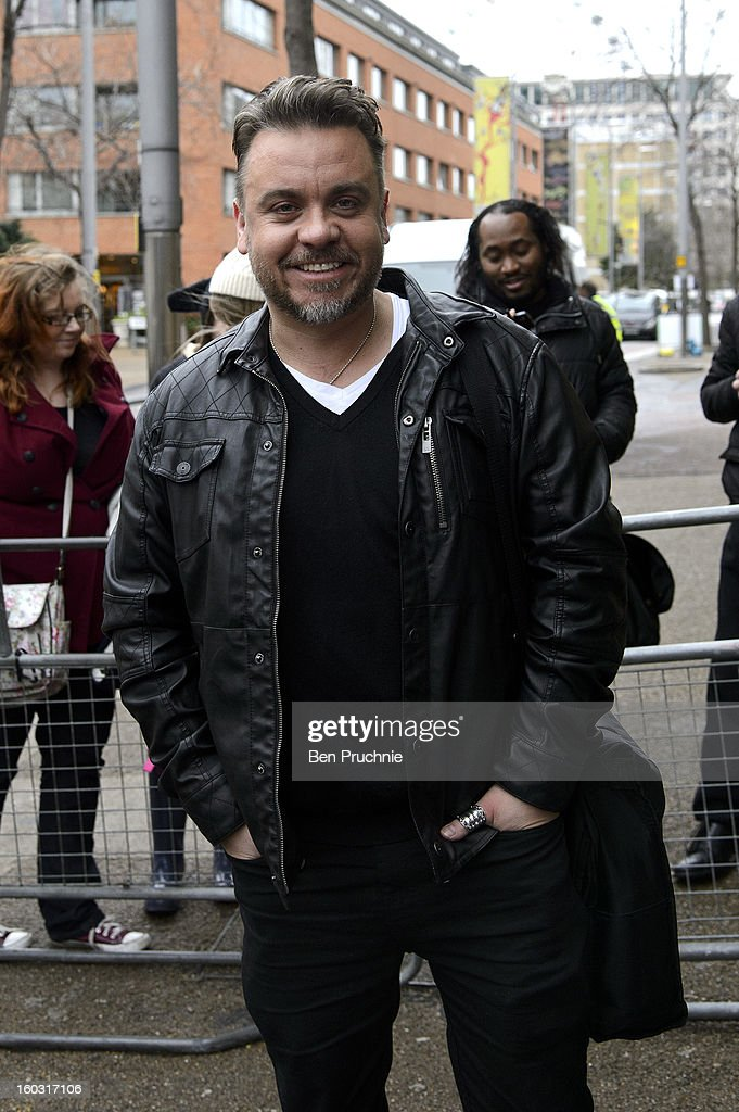 Lee Boardman sighted departing ITV Studios on January 29, 2013 in London, England.