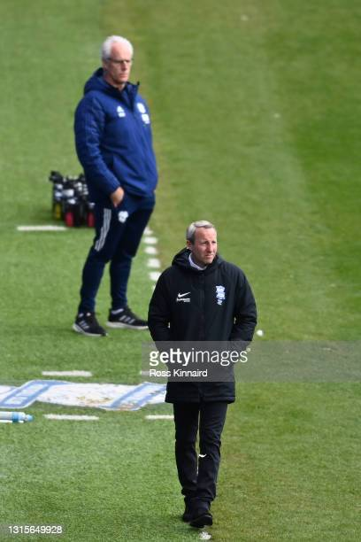 Lee Bowyer, Manager of Birmingham City looks on the Sky Bet Championship match between Birmingham City and Cardiff City at St Andrew's Trillion...